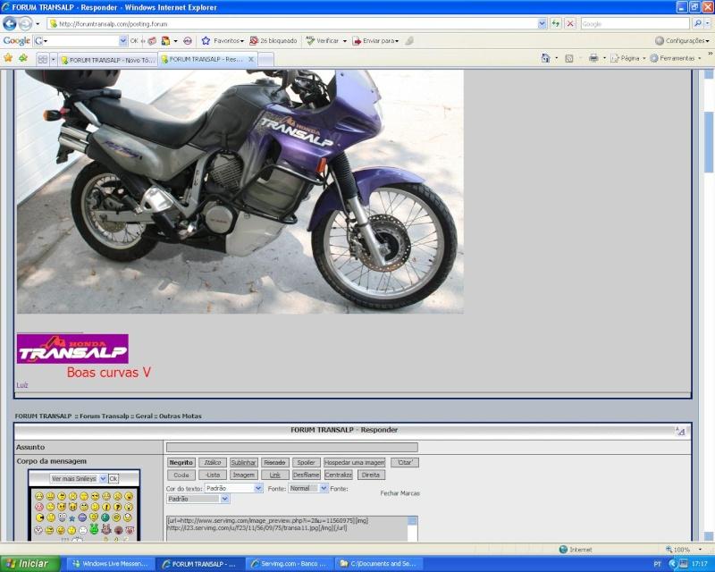 Como colocar fotos - criar tópicos - responder a mensagens Pf_0210