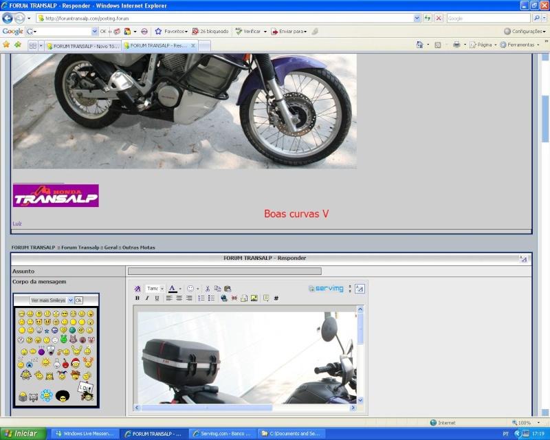 Como colocar fotos - criar tópicos - responder a mensagens Pf_0410