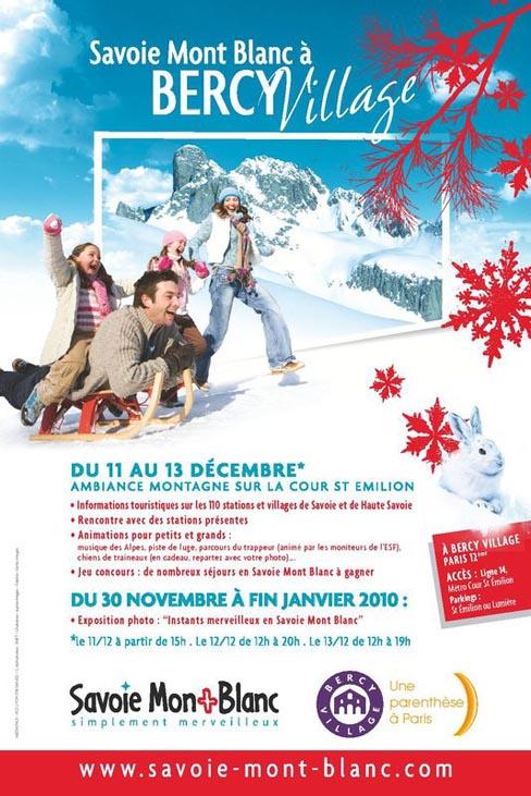 Savoie Mont Blanc à Bercy Village ce week-end Smb20b10