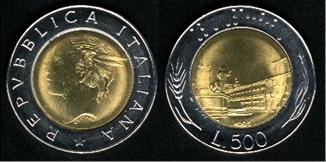 Símbolos e iconos de las monedas. - Página 2 Italia10