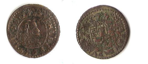 16 maravedis de  Felipe IV ceca de Trujillo Felipe10