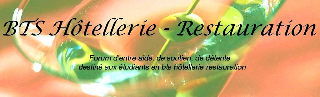 BTS Hôtellerie-Restauration