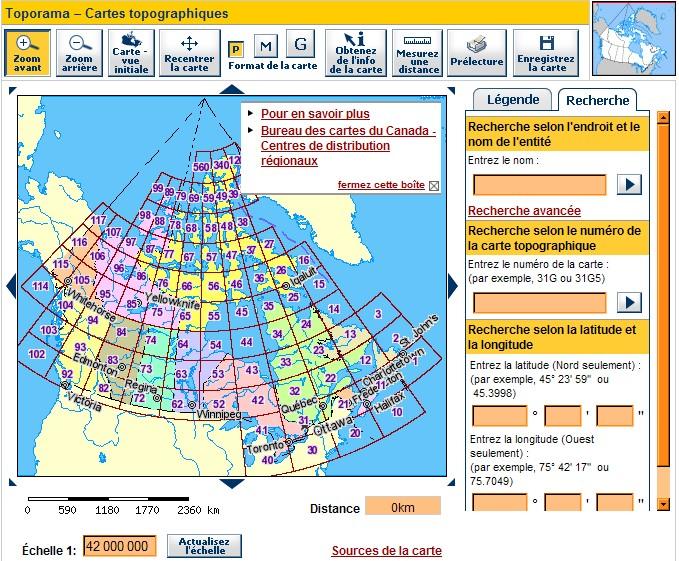 Services de cartographie en ligne : lequel choisir ? - Page 2 Canada10