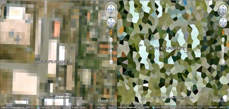 Zones censurées sur Google Earth aux Pays Bas Captu102