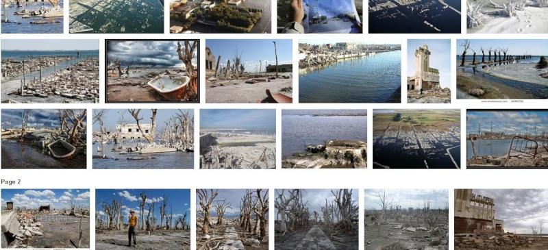 Epecuén : une cité argentine avalée par les eaux Captur22