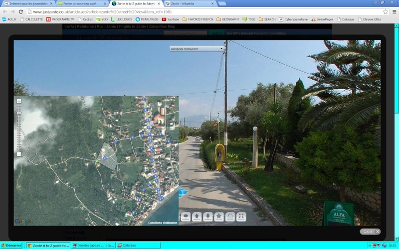 StreetView à Zante - Iles Ioniennes -  Grece Captur27