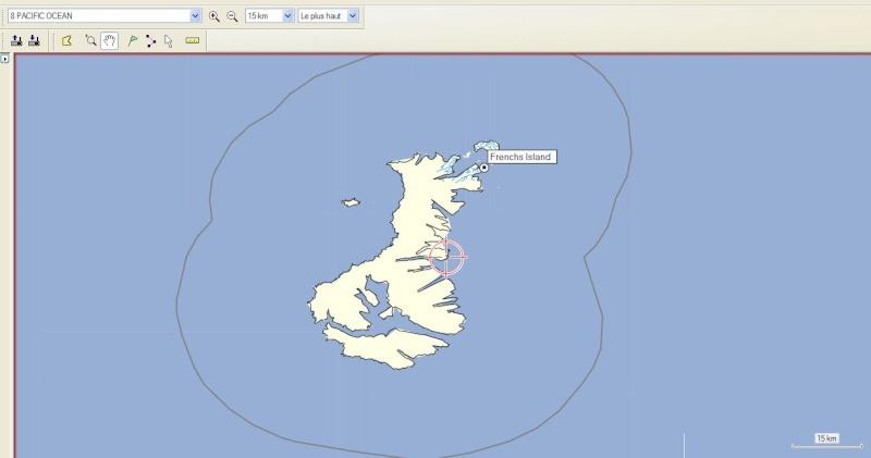 L'ilôt French dans l'archipel d'Auckland, c'est où ? Captur36