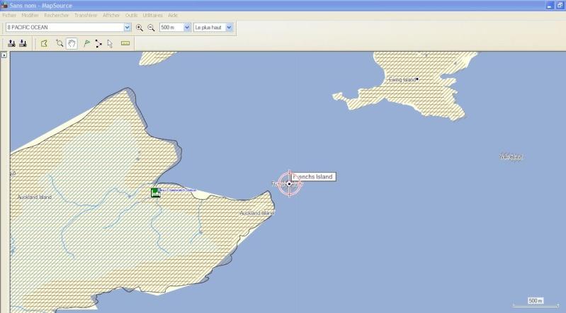 L'ilôt French dans l'archipel d'Auckland, c'est où ? Captur38