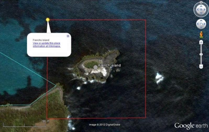 L'ilôt French dans l'archipel d'Auckland, c'est où ? Captur39
