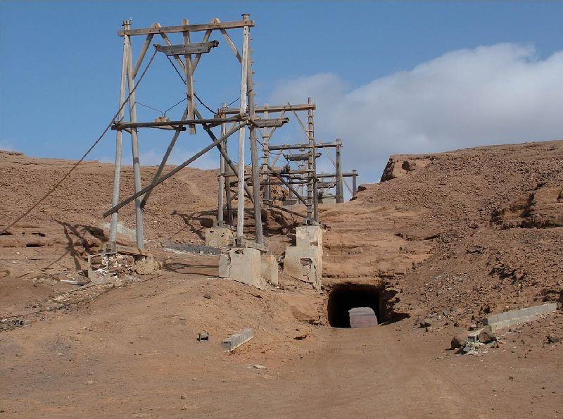 Le téléphérique des salines de Pedra de Lume - Iles du Cap Vert Captur70