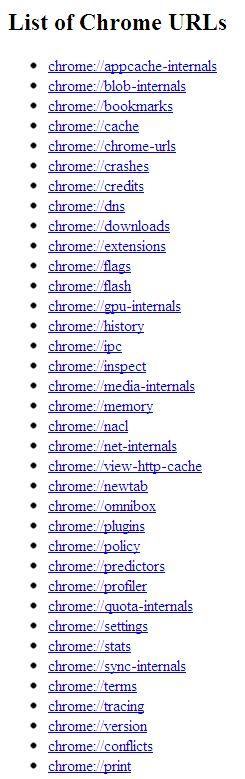 A propos de Google Chrome Chrome11