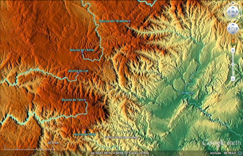 KMZ : Fleuves et Rivière du Monde Rivers10