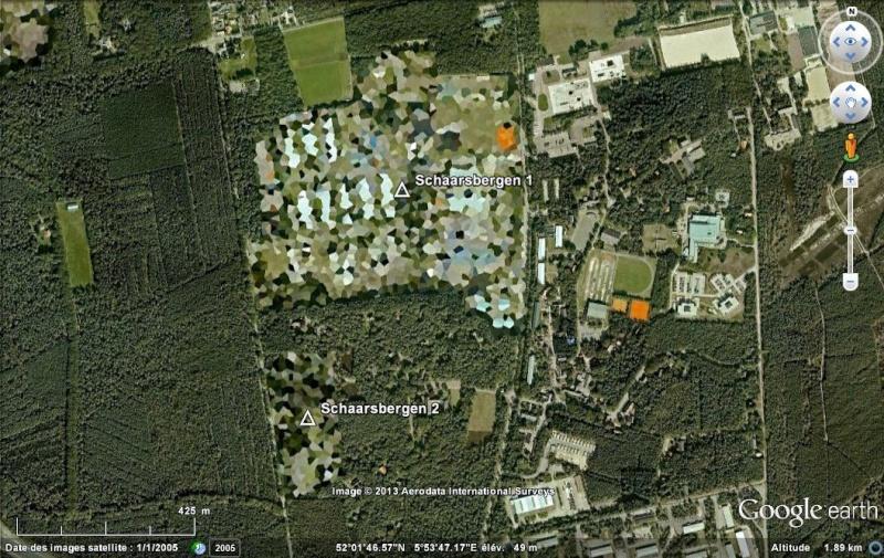 Zones censurées sur Google Earth aux Pays Bas Schaar11