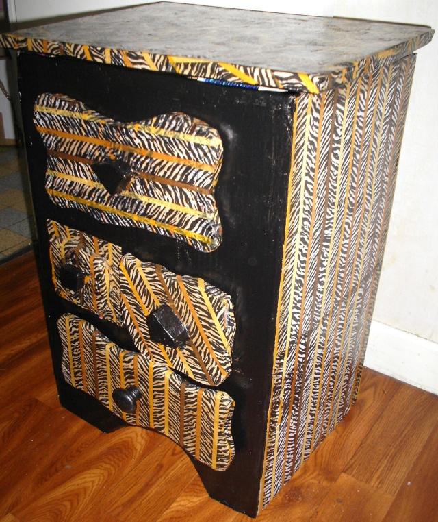 Fabriquer un meuble en carton le syst me - Fabriquer meuble en carton ...