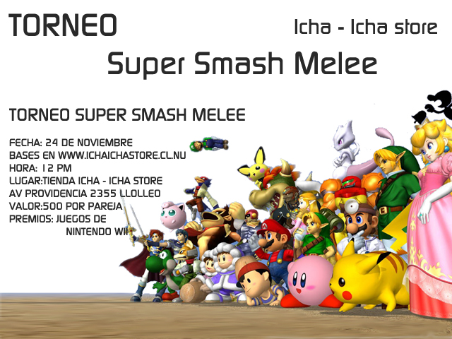 Segundo Torneo de Super Smash meele Segund10