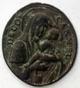 Passio Cristi  . Médaille XVIIIe siècle Madonn10