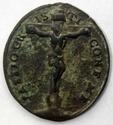 Passio Cristi  . Médaille XVIIIe siècle Madonn11