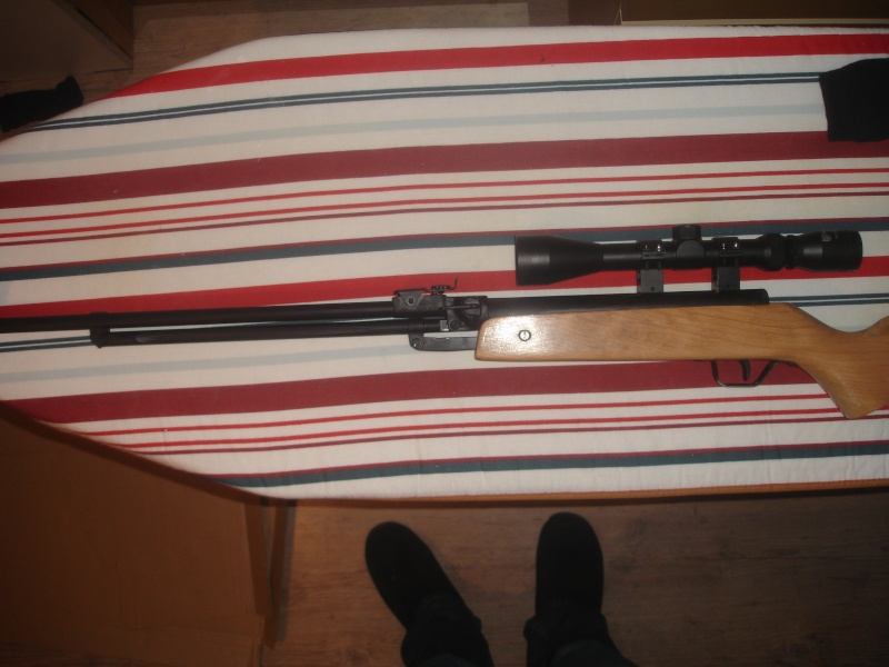 Vieille carabine chinoise remise en forme. Dsc02310