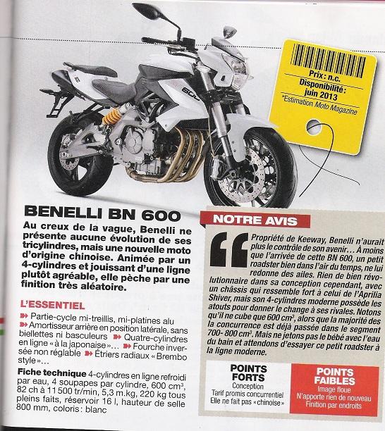 Benelli BN 600 Bn_60010