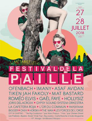 Festival de la paille - 27/ 28 juillet 2018 - Doubs _flyer10
