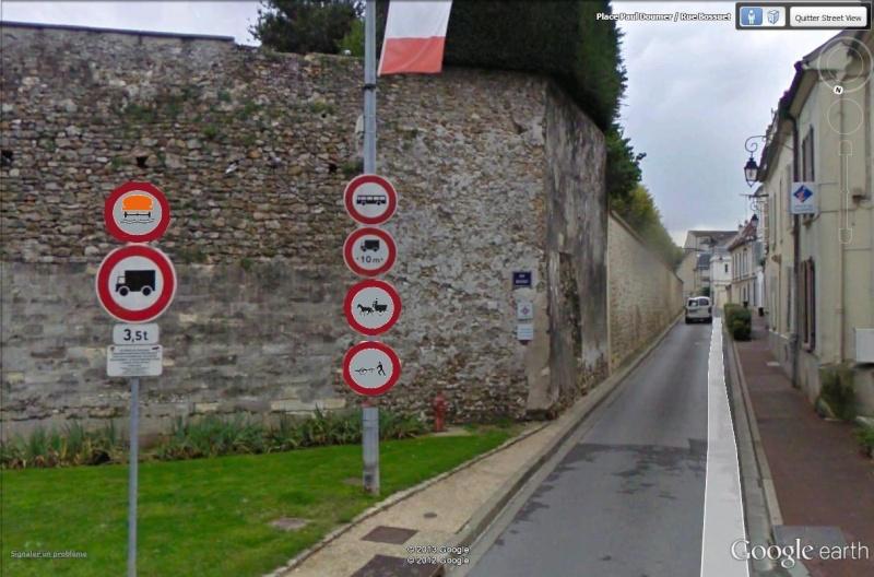 STREET VIEW : les panneaux routiers - Page 2 Meaux_11