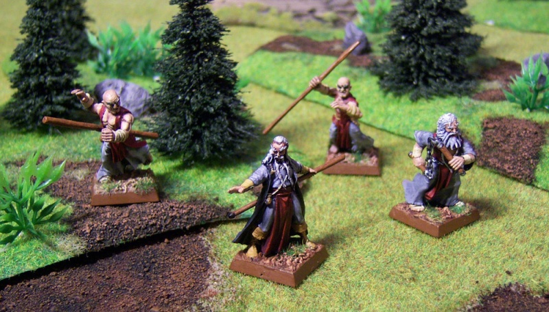Eastern Promises - Battle Monks of Cathay warband Monks10