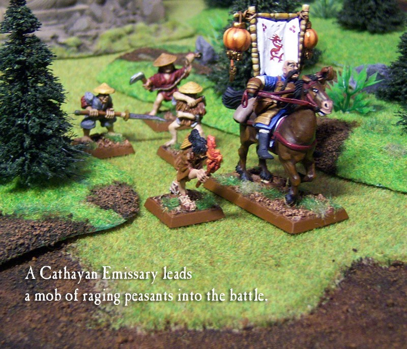 Eastern Promises - Battle Monks of Cathay warband Peasan10