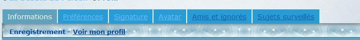 Pour mettre une photo dans son profil aussi nommé avatar Profil11