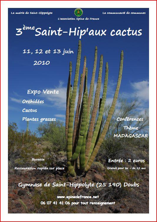 Saint-Hip'aux cactus 2010 Affich10