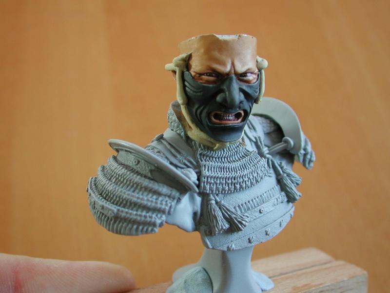 Buste de samuraï de chez Elite 211