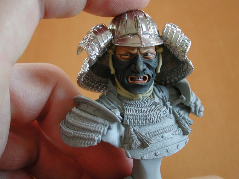 Buste de samuraï de chez Elite 312