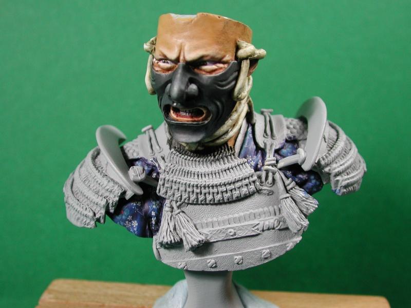 Buste de samuraï de chez Elite 610