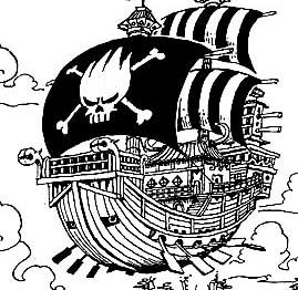 quel bateau Préférez vous dans one piece ? Vegeta10