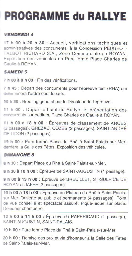 14ème Dunes et Marais 1991 Lastsc12