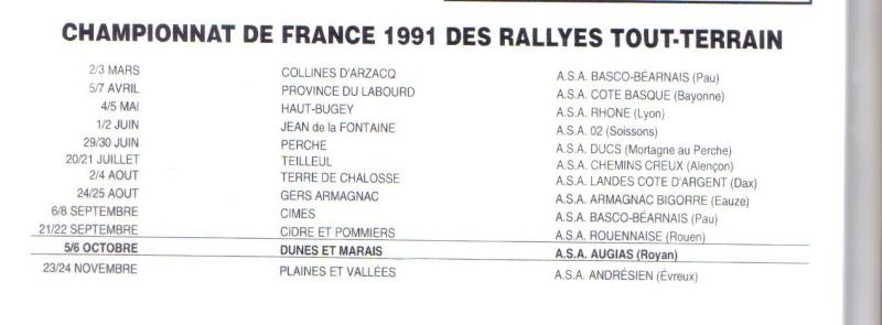 14ème Dunes et Marais 1991 Lastsc14