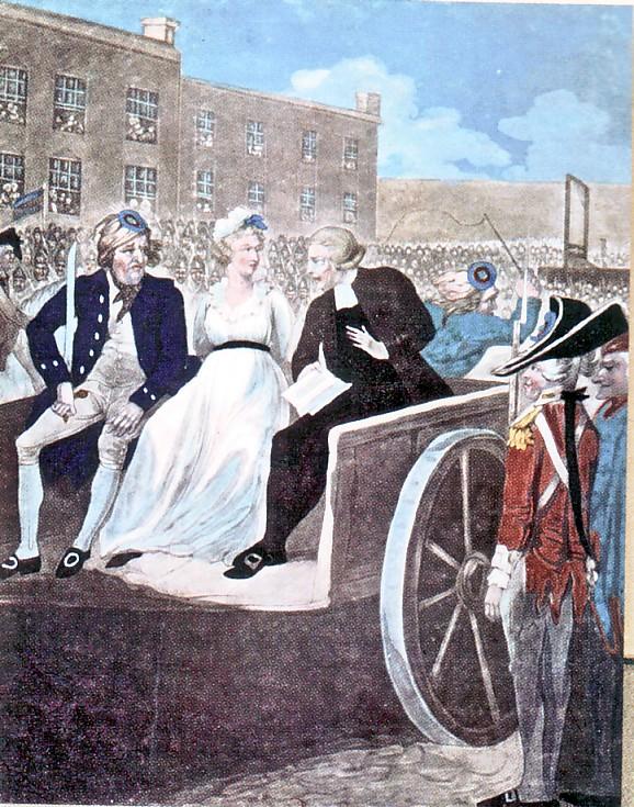 Marie Antoinette  conduite au supplice - Page 3 Mamort10