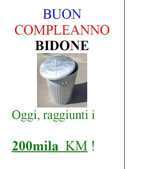 """BUON COMPLEANNO BITURBO: il mio """"Bidone"""" ha compiuto 200.000 km senza problemi Volant10"""