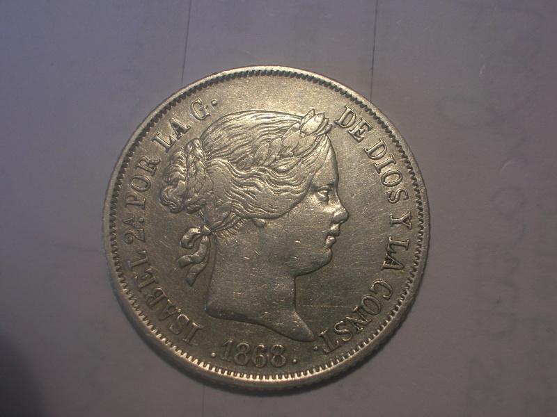 40 cent de Escudo de Isabel II (Madrid, 1868 d.C) Dscn2310