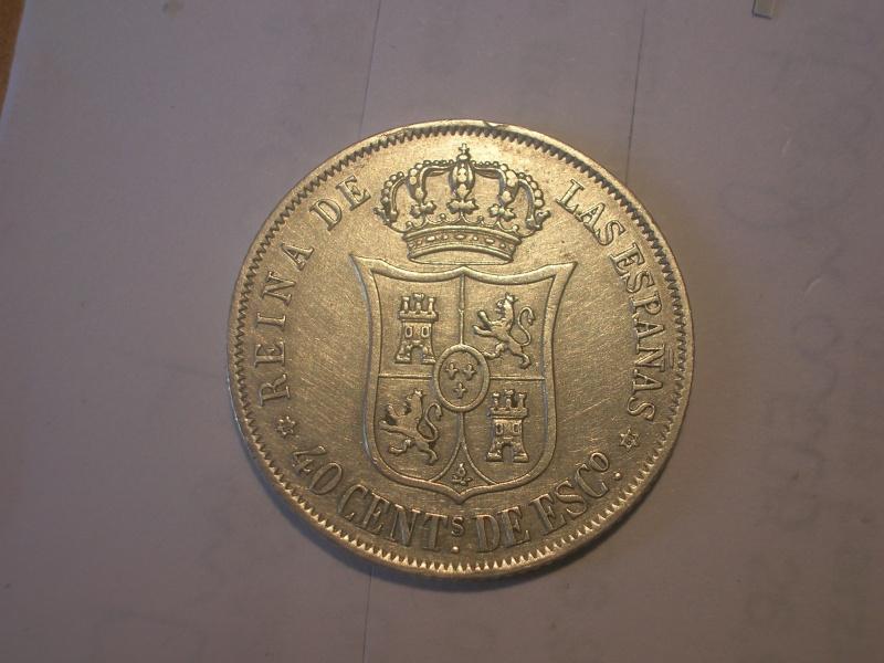 40 cent de Escudo de Isabel II (Madrid, 1868 d.C) Dscn2311