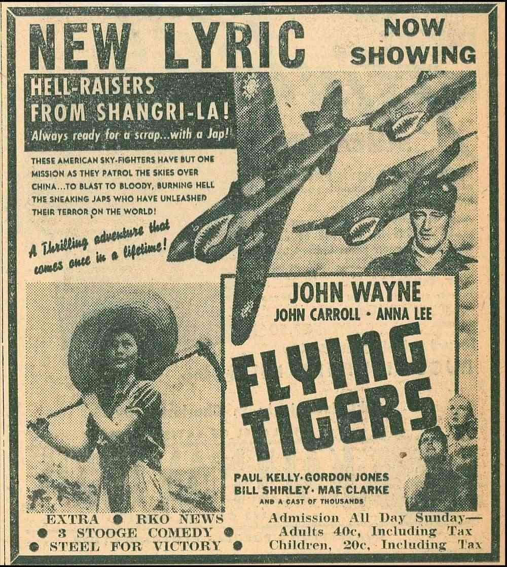 Les tigres volants - Flying Tigers - 1942 Flying10