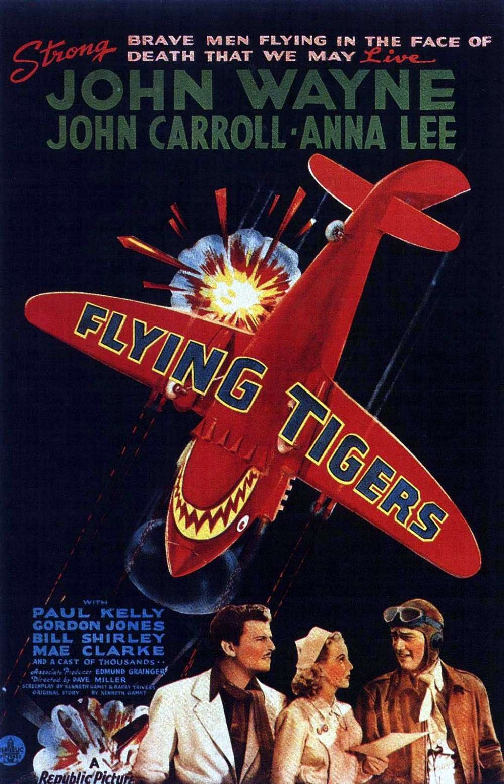 Les tigres volants - Flying Tigers - 1942 Flying12
