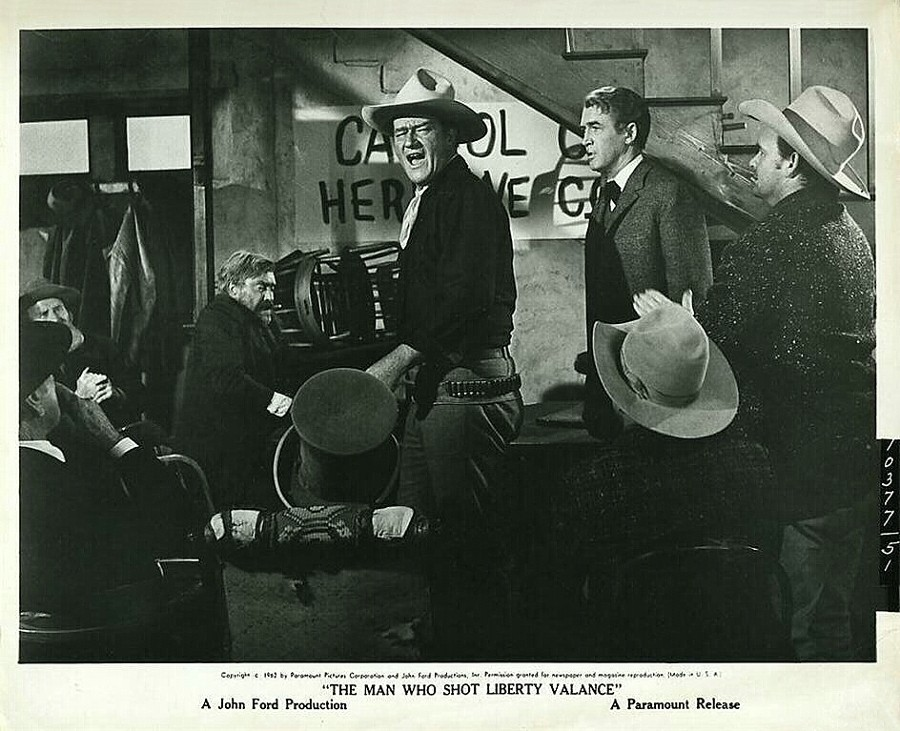 L'homme qui tua Liberty Valance-The Man Who Shot ... - 1962 Sansti10