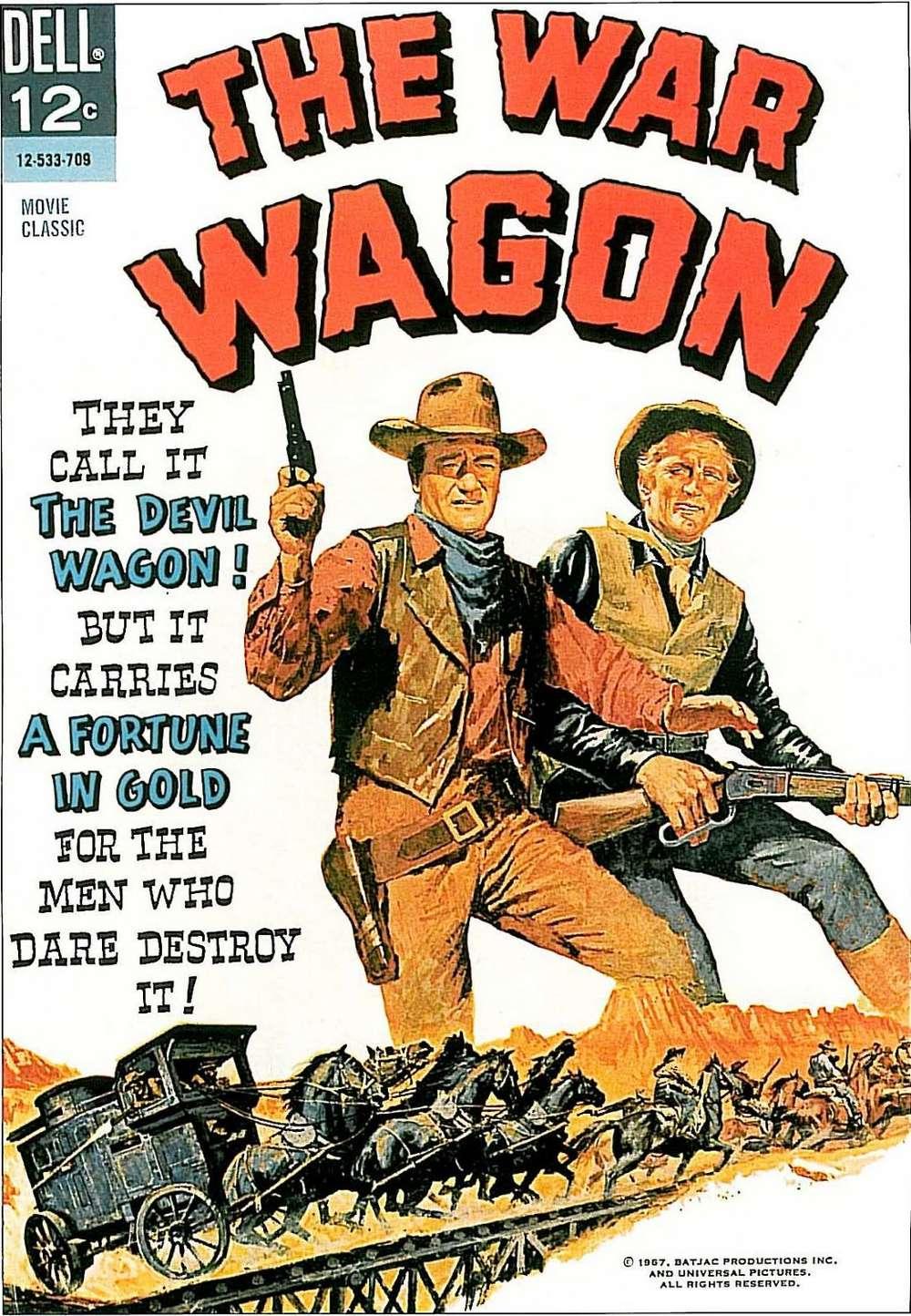 La Caravane de Feu - The War Wagon - 1966 War_wa11