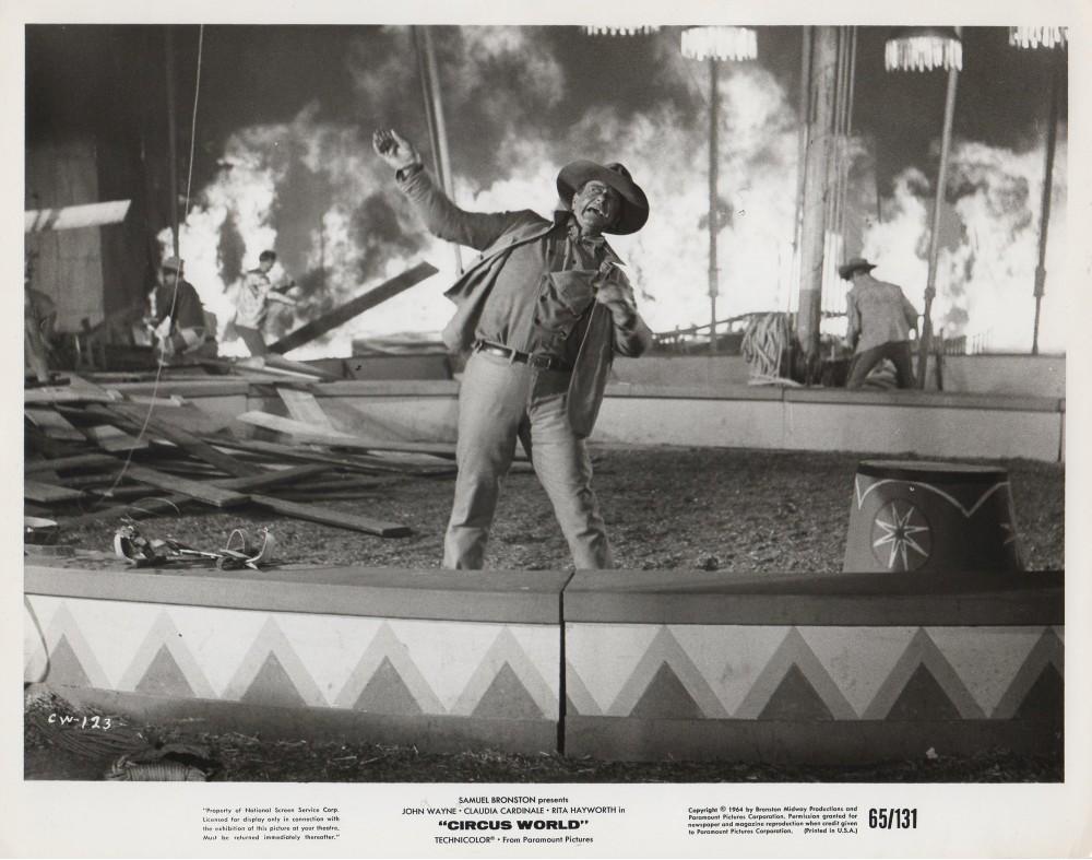Le Plus Grand Cirque du Monde - Circus World - 1964  - Page 3 Wayne712
