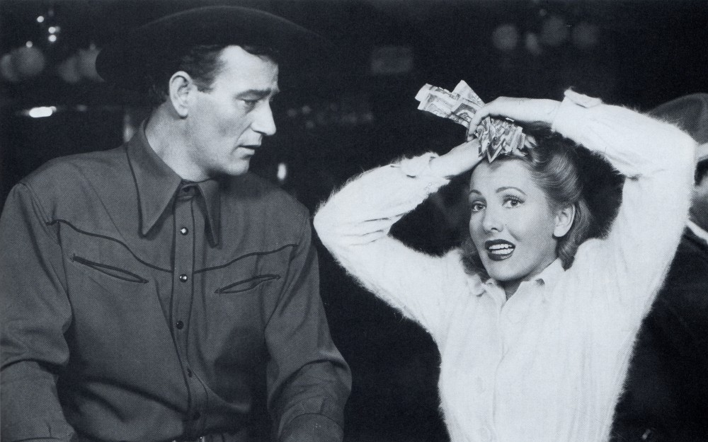 La Fille et son Cowboy - A Lady Takes A Chance - 1943 Wayne_67