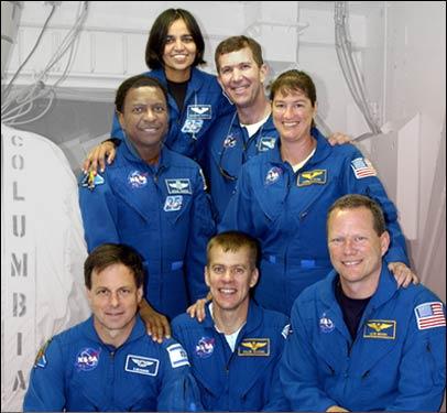 Columbia STS-107, 1er Février 2003, 10 ans déjà... Crew1010