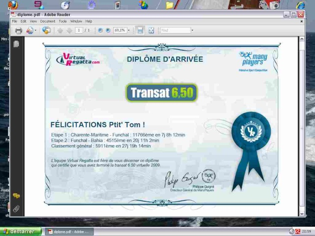 Virtual Regatta Diplom10