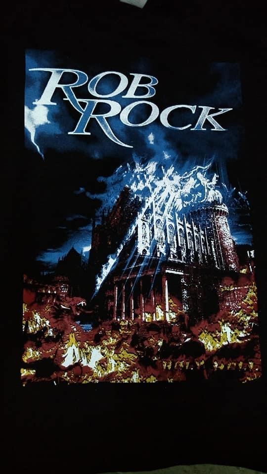 Rob Rock Holy Hell T Shirt 029b3610