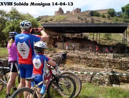 XVIII SUBIDA CICLOTURISTA SANTUARIO ROMANO MUNIGUA 14-04-13 Ciclot11