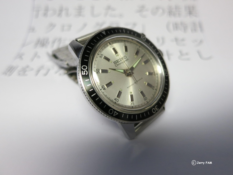 """[REVUE] SEIKO 5719 """"One Button"""" - Le premier chronographe bracelet SEIKO 0710"""